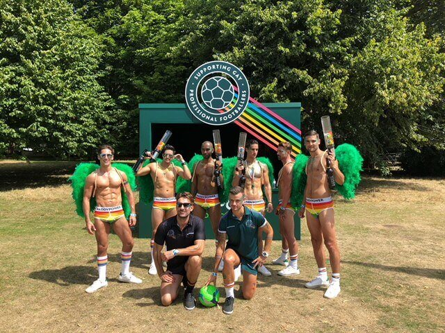 London Models at Brighton Pride 2018