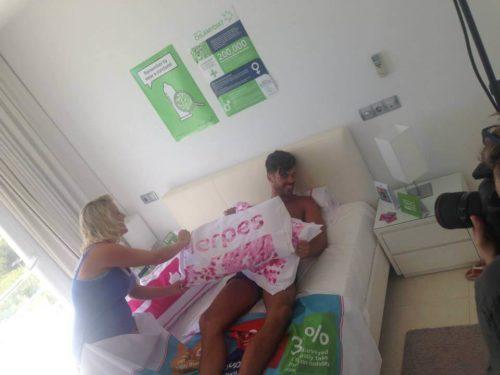 Elpromotions Ibiza Superdrug editorial photoshoot