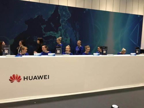 Huawei corporate staffing agency in London