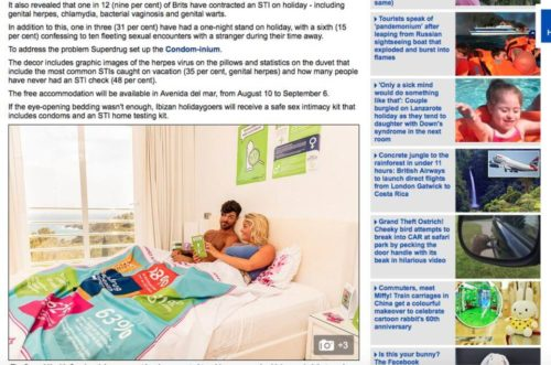 MailOnline Features Elpromotions Agency Superdrug Campaign