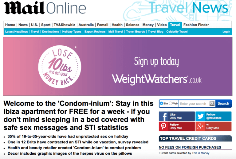 daily mail article superdrug