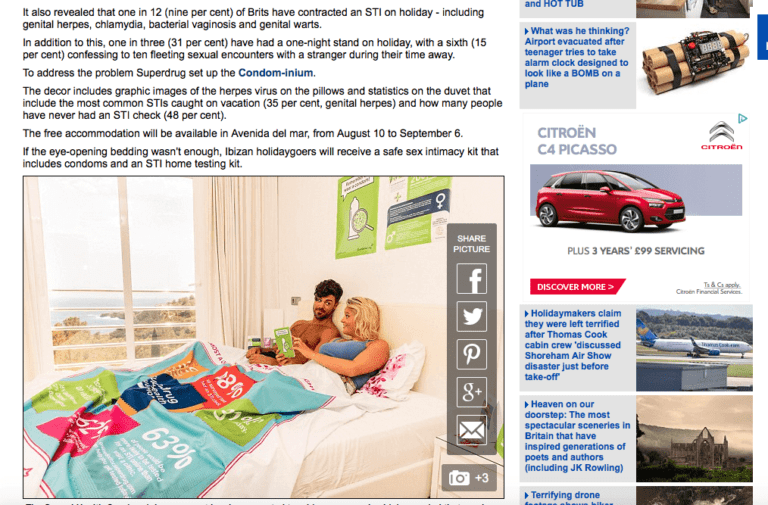 daily mail superdrug article