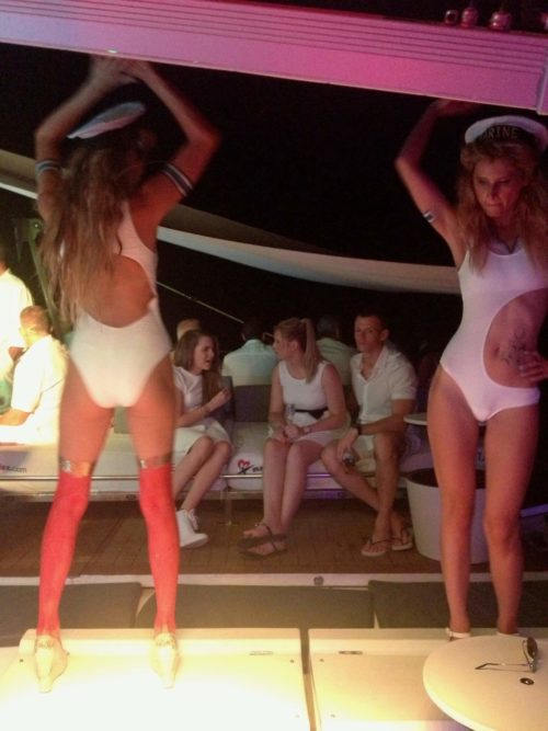 Elpromotions Agency Ibiza Model & Staffing Agency dancers in white