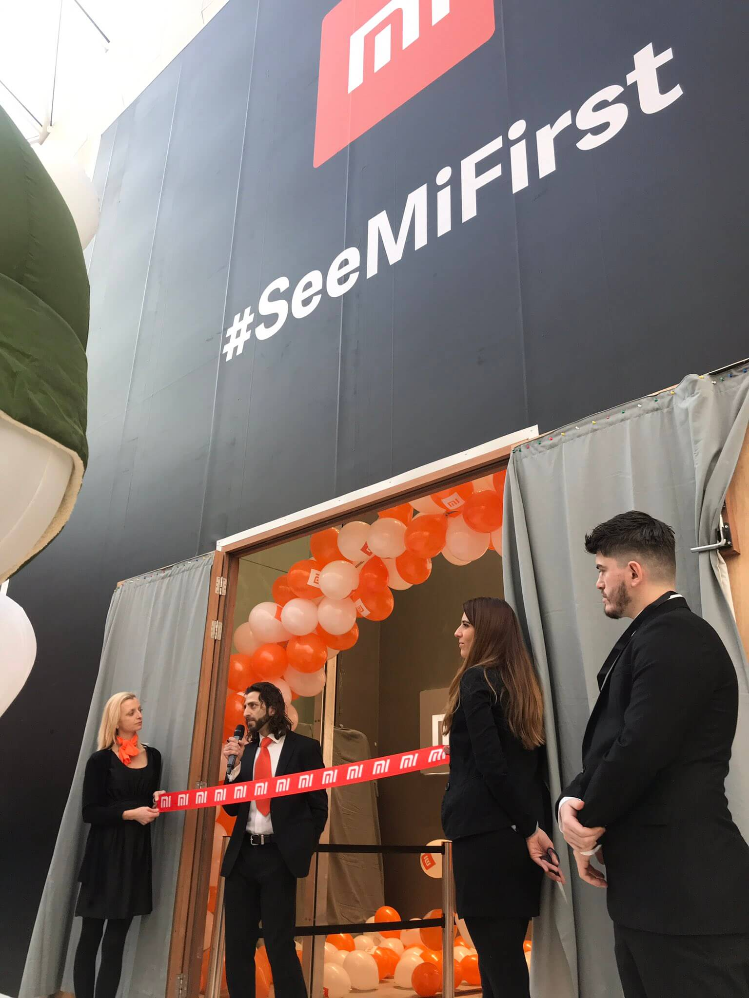 Xiaomi UK Event Staff at Westfield London