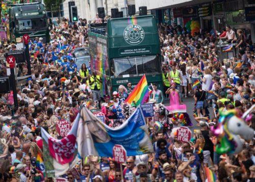 Brighton Pride 2018 - Paddy Power