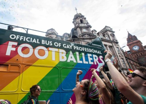Elpromotions promotional staff at Brighton Pride 2018 for Paddy Power