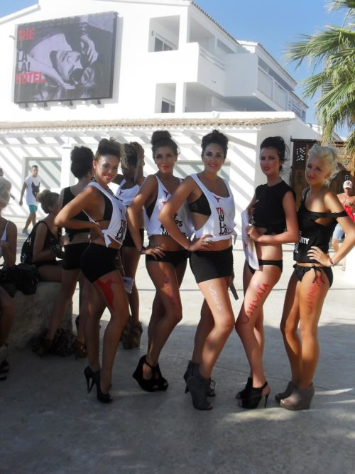 Elpromotions agency ibiza promotional models and dancers