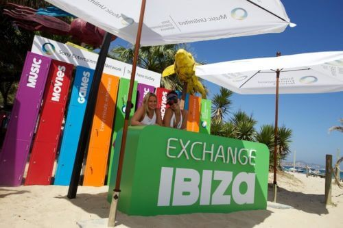 experiential staffing and events agency in Ibiza models working