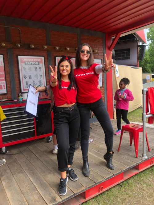 Firestone event staff at All Points East Festival 2019