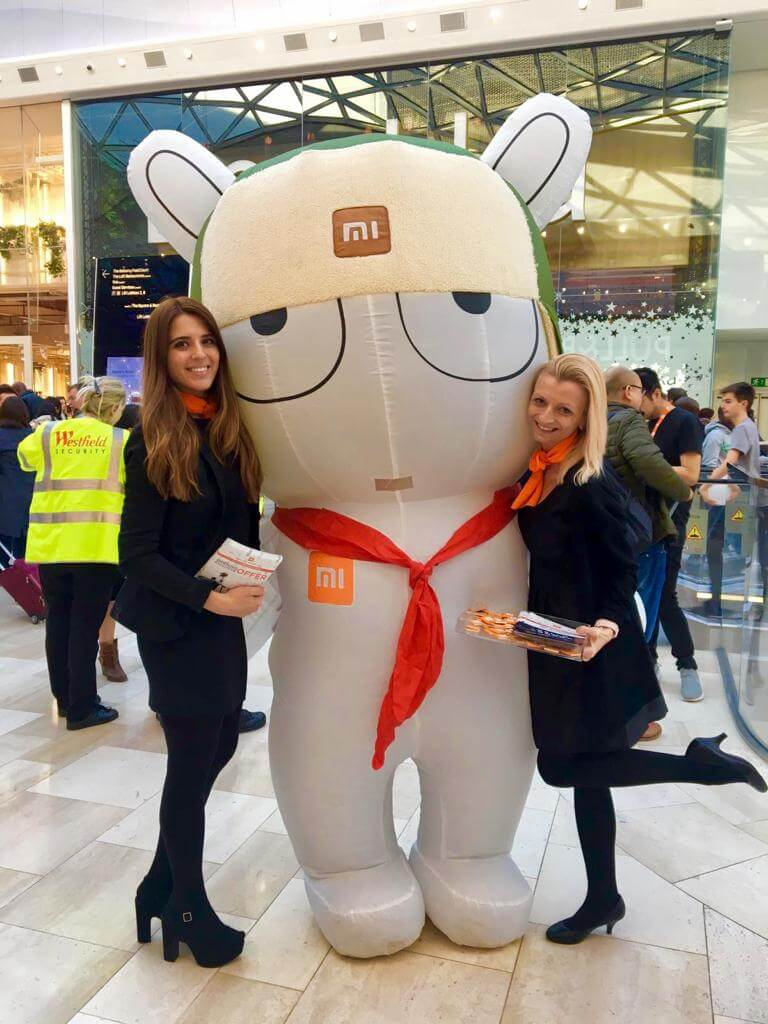 Promotional Models at Westfield White City