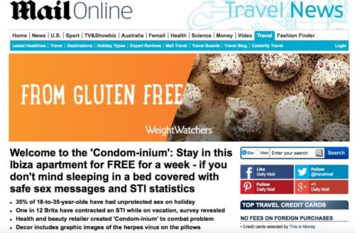 Mail Online featured Elpromotions Agency