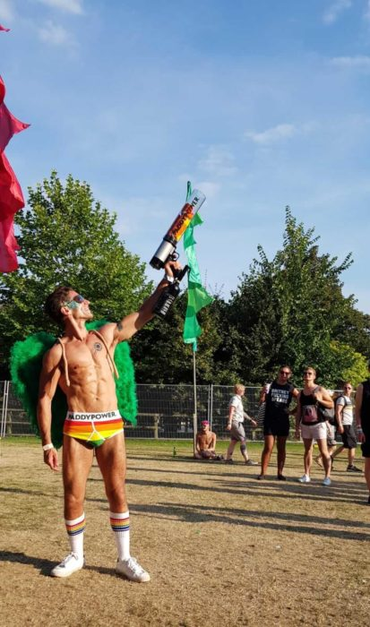 Elpromotions staff at Brighton Pride 2018 for Paddy Power