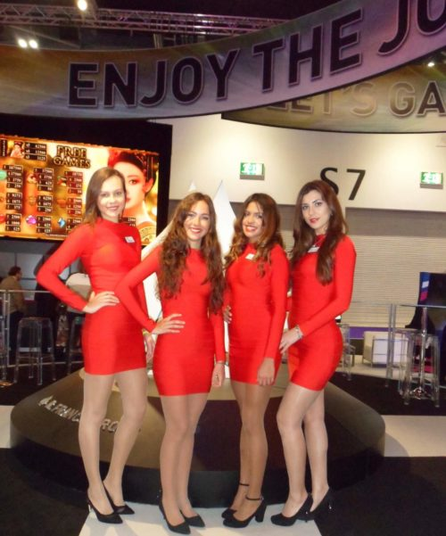 ICE totally gaming hostess agency