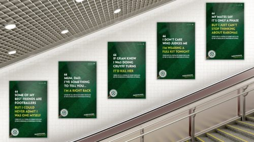 Paddy Power posters and advertising