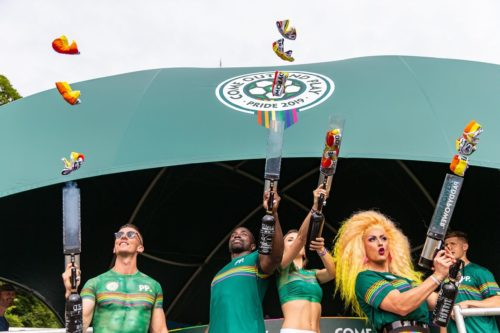 Elpromotions models and drag queen agency for Brighton Pride 2019