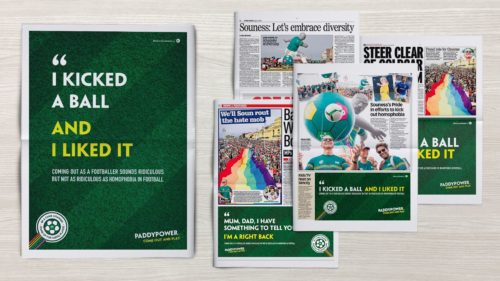Paddy power in the press