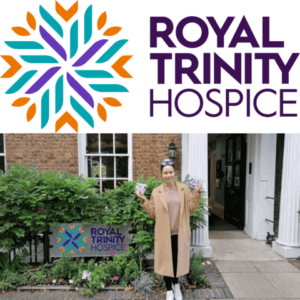 uncu london donates to Trinity London Hospice