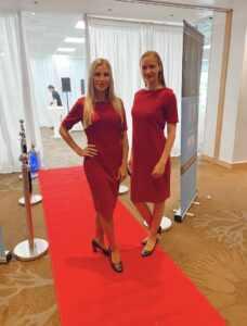 Corporate Hostesses in London working at a VIP event