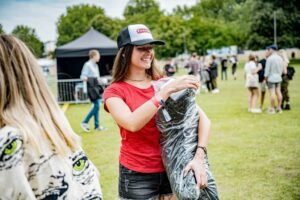 festival brand ambassador hostess at all points east festival in london