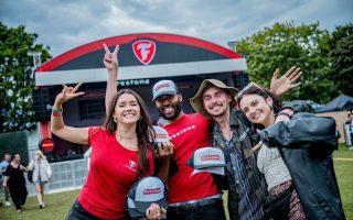 london festival staff at Firestone Europe